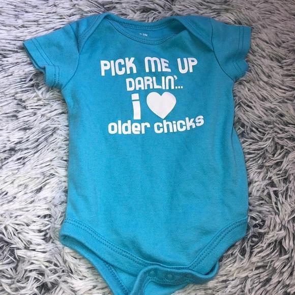 Pick Me Up Darlin/' I Dig Older Chicks Shirt